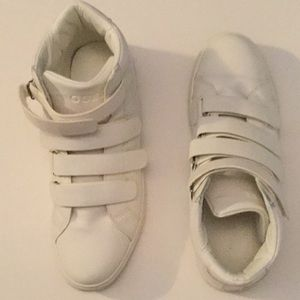Guess White Hightop Sneakers